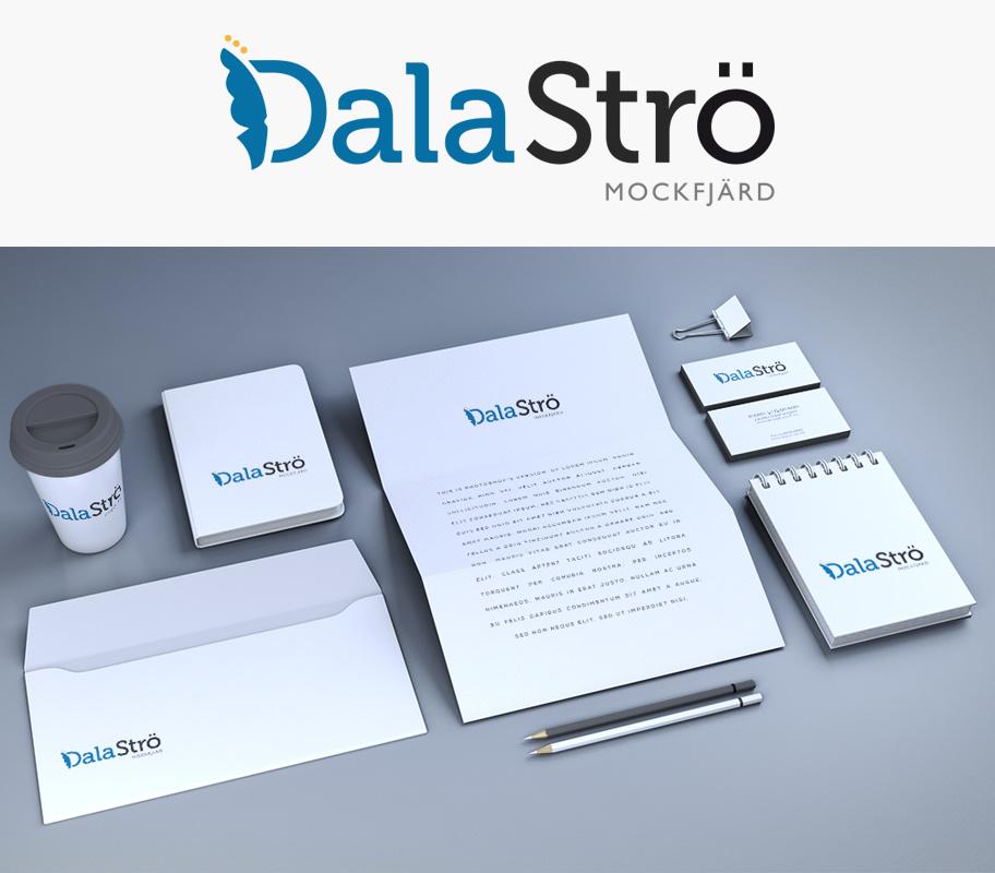 Dalaströ Varumärke Logotype