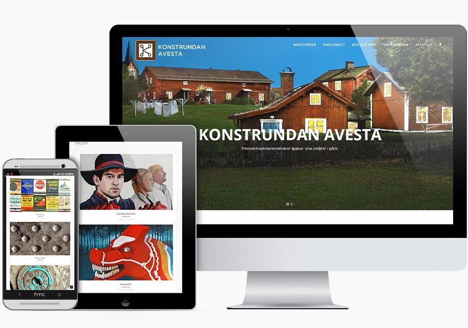 Ny hemsida för Konstrundan Avesta