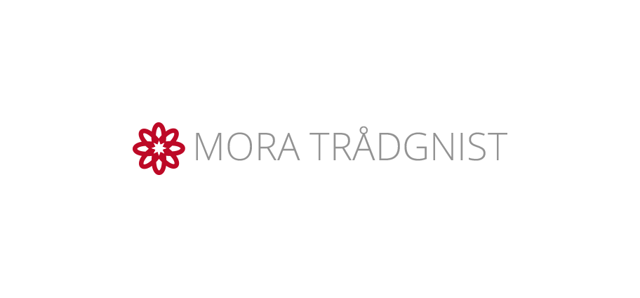 Logotyp Mora Trådgnist